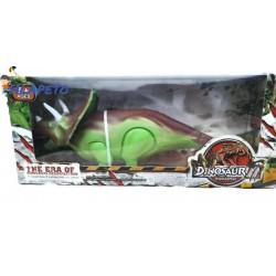 Голям динозавър  в зелено