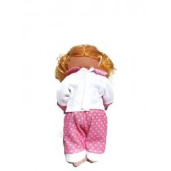 Розова кукла със  биберон