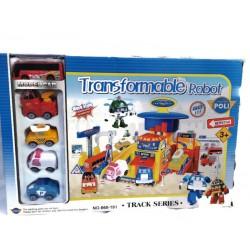 Детска станция с роботи и...