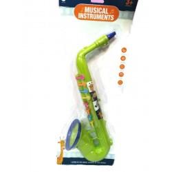 Детски музикален саксофон