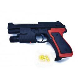 Детски пистолет с лазер и...